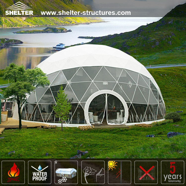 A Quick Collection Of Images Of Geodesic Domes: The Most Beatity Event Domes