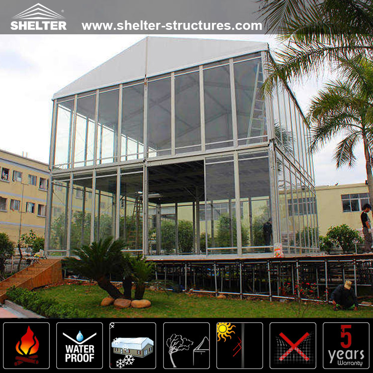 Double Decker Tent-Two Story Tents-Commercial Tents-Event Tent-Wedding Marquee & Two Story Tent- Double Decker Tent u2013 clearspanstructures